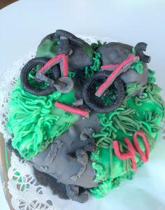 Mountinbike krach