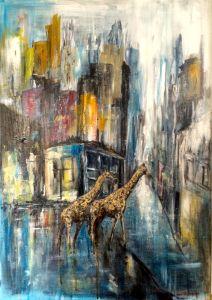 Storstadsdjungel giraff