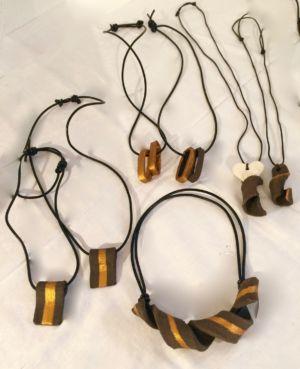 Keramiska smycken - Rustik